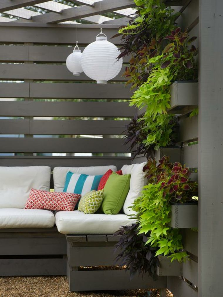Pallet wooden planter ideas2