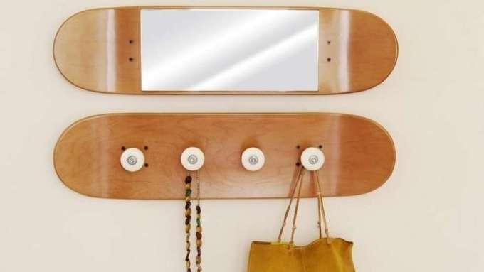DIY Ideas With Skateboards2
