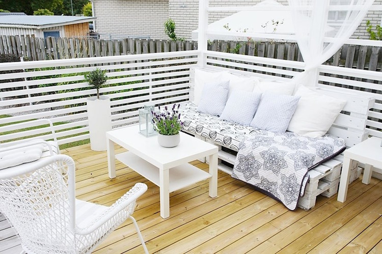 Pallet garden furniture4