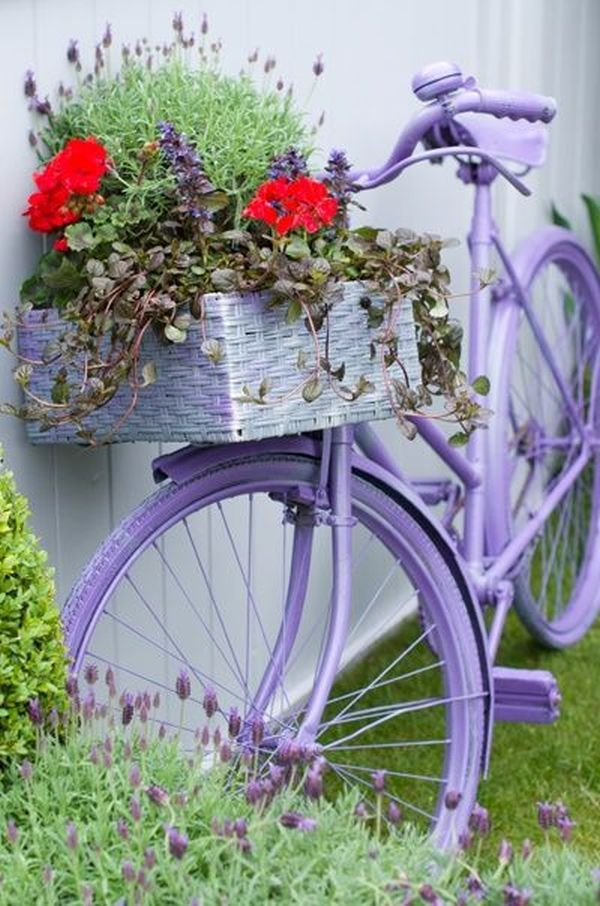 garden decorations from old bicycles2