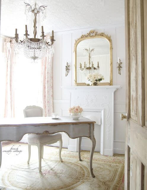 French country style country home offices (1)