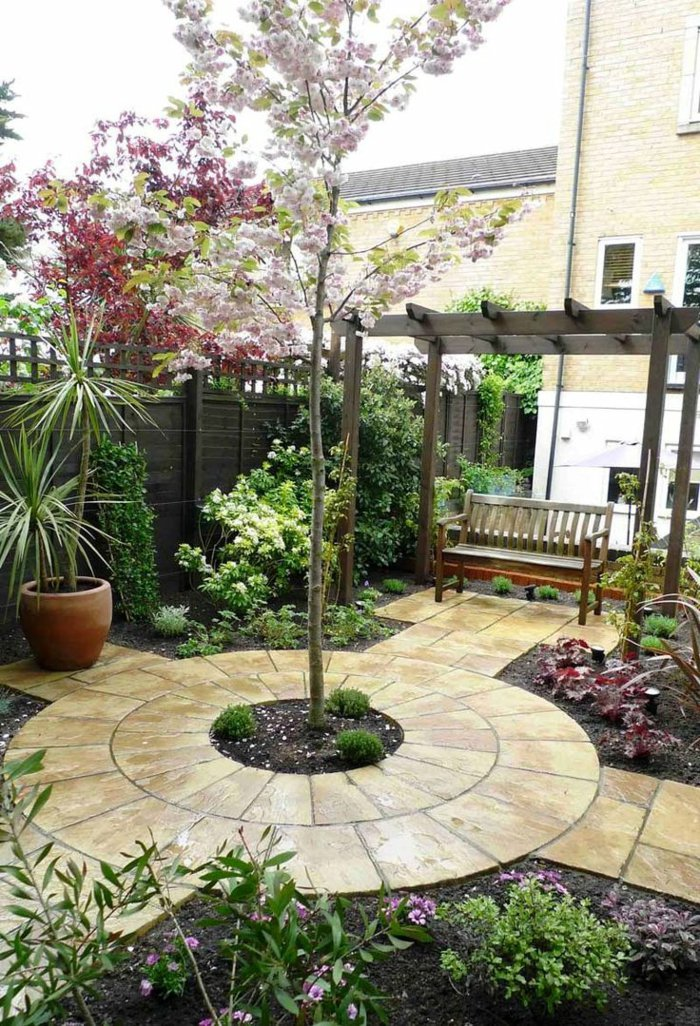 Garden with pergola6
