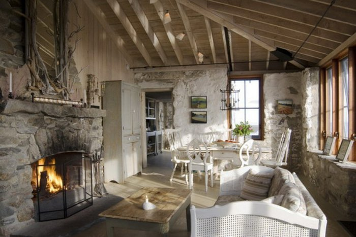 Rustic lounge ideas13