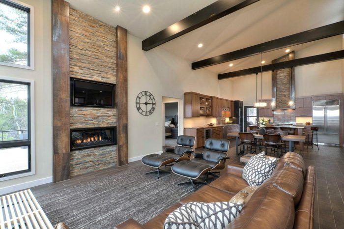 Rustic lounge ideas4