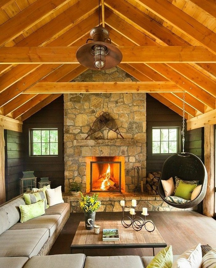 Rustic lounge ideas44