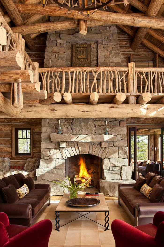 Rustic lounge ideas47