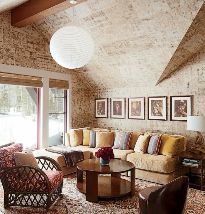 Rustic lounge ideas8