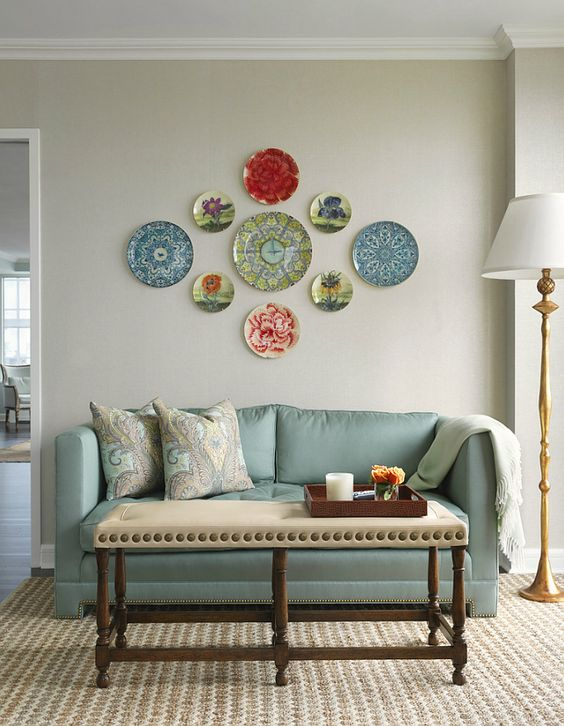 decorating walls with dishes4
