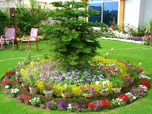 flower beds ideas (19)