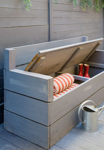 outdoor furniture ideas with storage solutions6