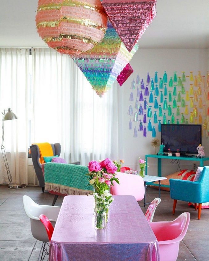 most colorful apartment7