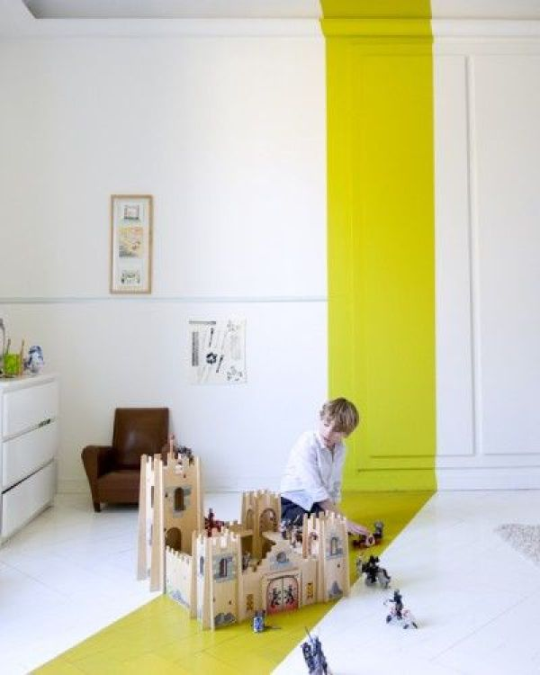 geometric shapes color wall deco19