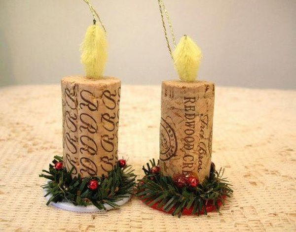 diy Christmas ornaments from corks (19)