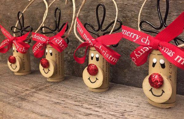 diy Christmas ornaments from corks (24)