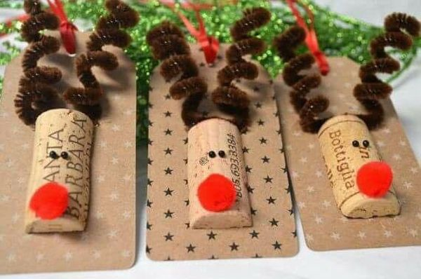 diy Christmas ornaments from corks (25)