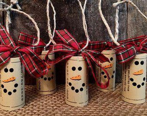 diy Christmas ornaments from corks (4)