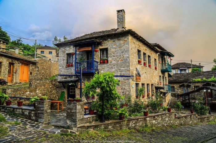 dream houses in the mountains of Greece24