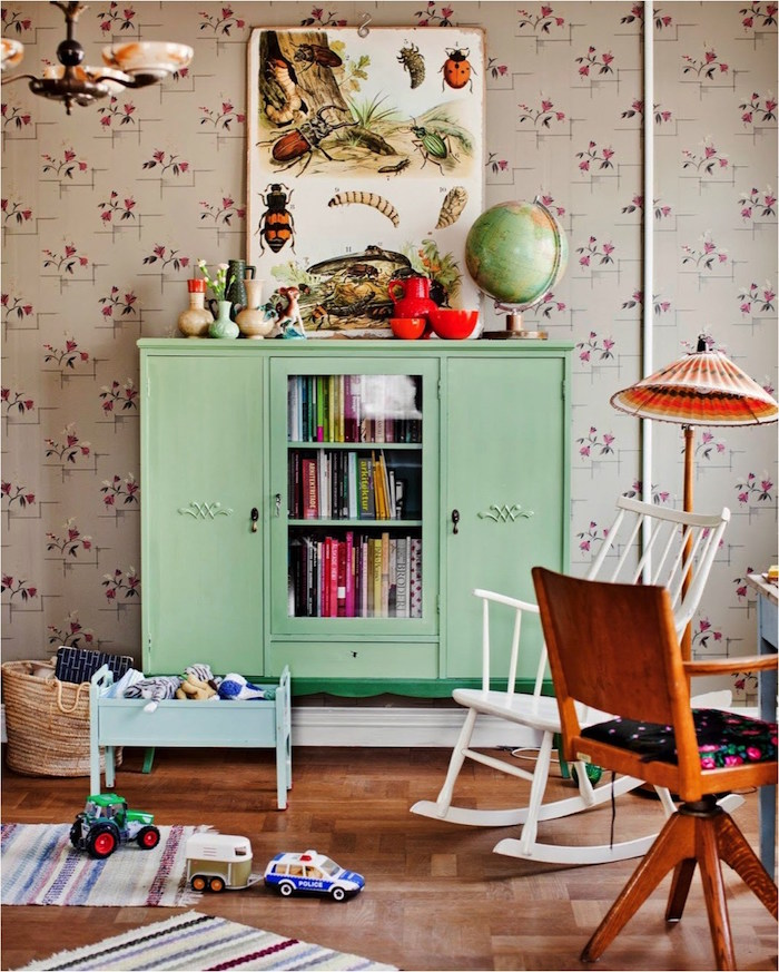 mint color decoration (20)