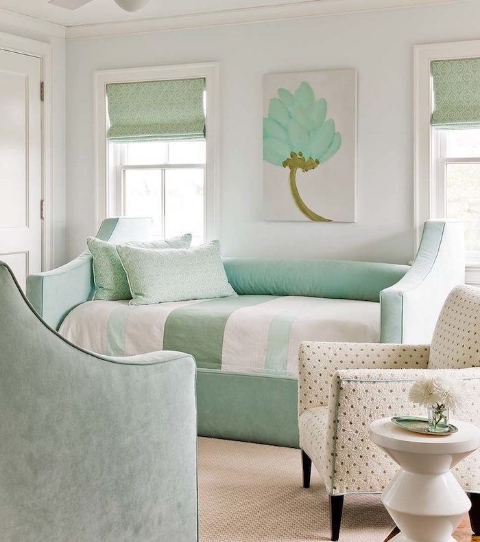 mint color decoration (25)