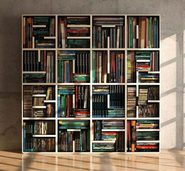 practical and unique ideas to organize books17