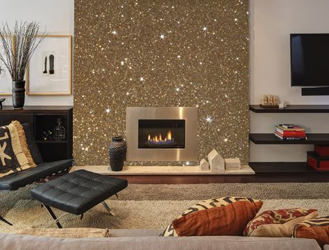 make a gold dust wall2