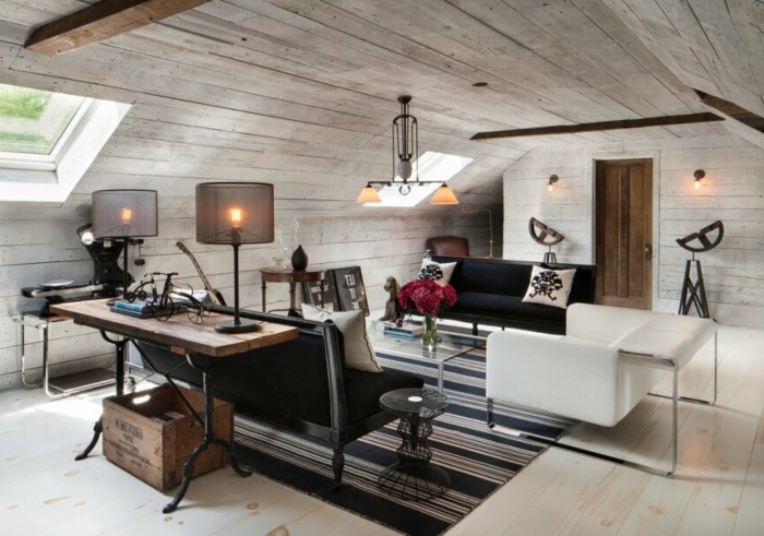 Attics deco and inspiration61