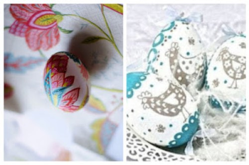 Decoupage in Easter eggs4