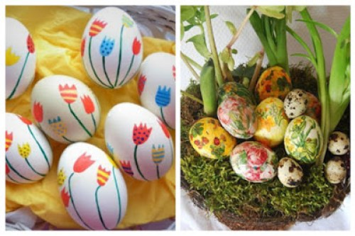 Decoupage in Easter eggs5