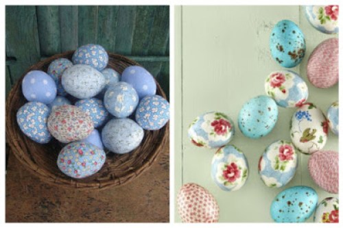 Decoupage in Easter eggs7