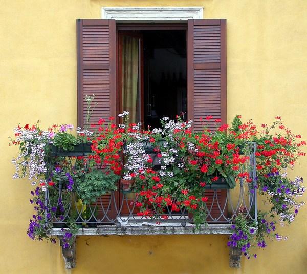 mydesiredhome - blooming balconies ideas23