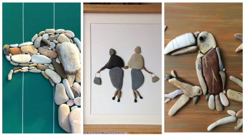 Pebble art ideas