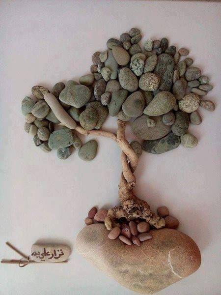 Pebble art ideas11