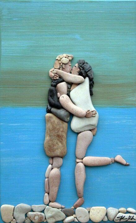 Pebble art ideas13
