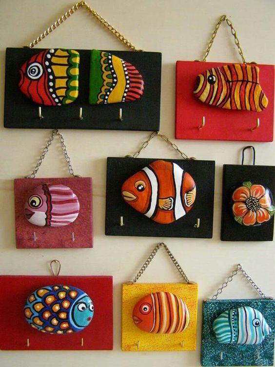 Pebble art ideas26