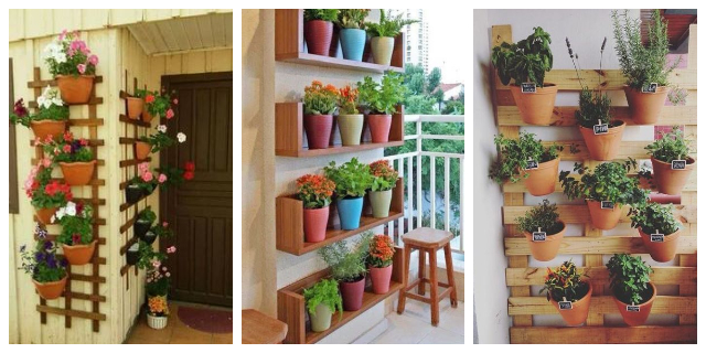 hang pots on walls1