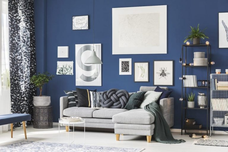 Shades of Blue for the walls1