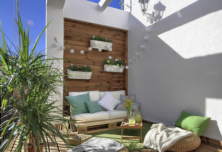 Balcony pallet Sofa ideas5