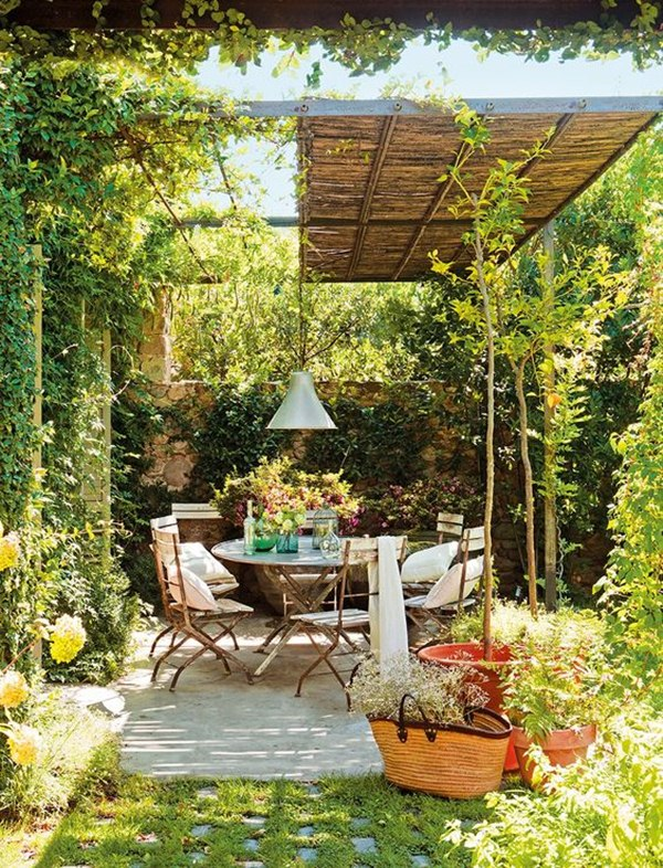 Pergolas for the garden (6)