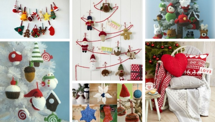 Diy Knitted Woolen Christmas Ornaments That Will Magically Decorate