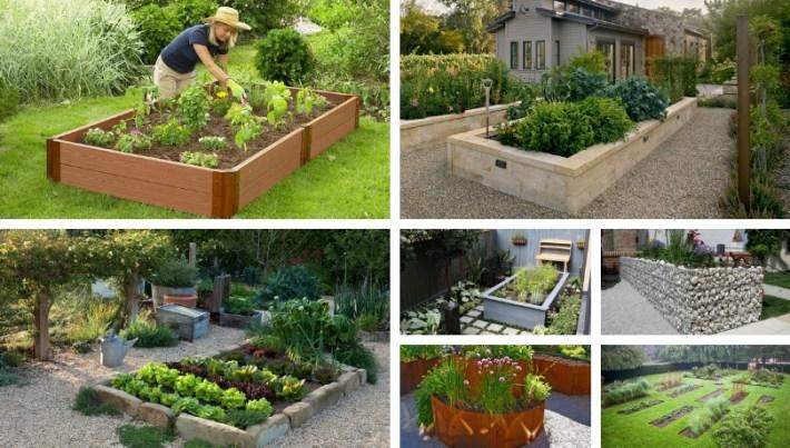 DIY vegetable - herb and flower garden design ideas in 76 ...