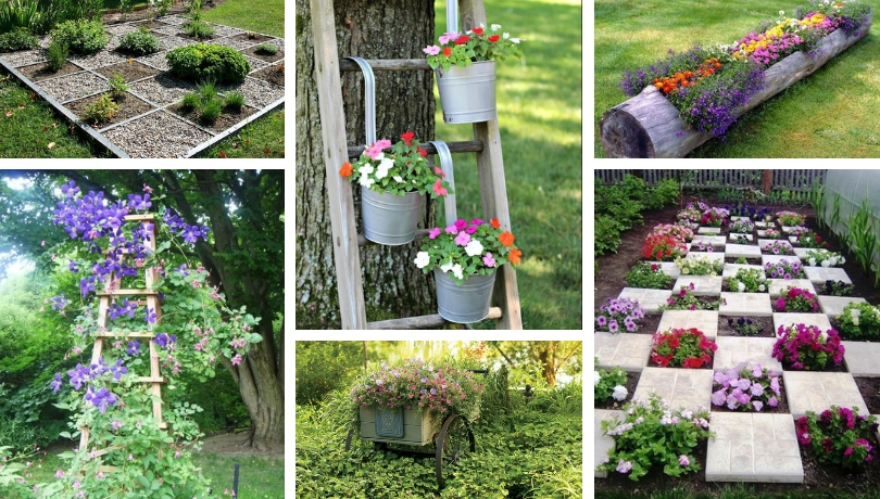 Decorate The Garden Creatively With These 65 Diy Ideas My Desired Home