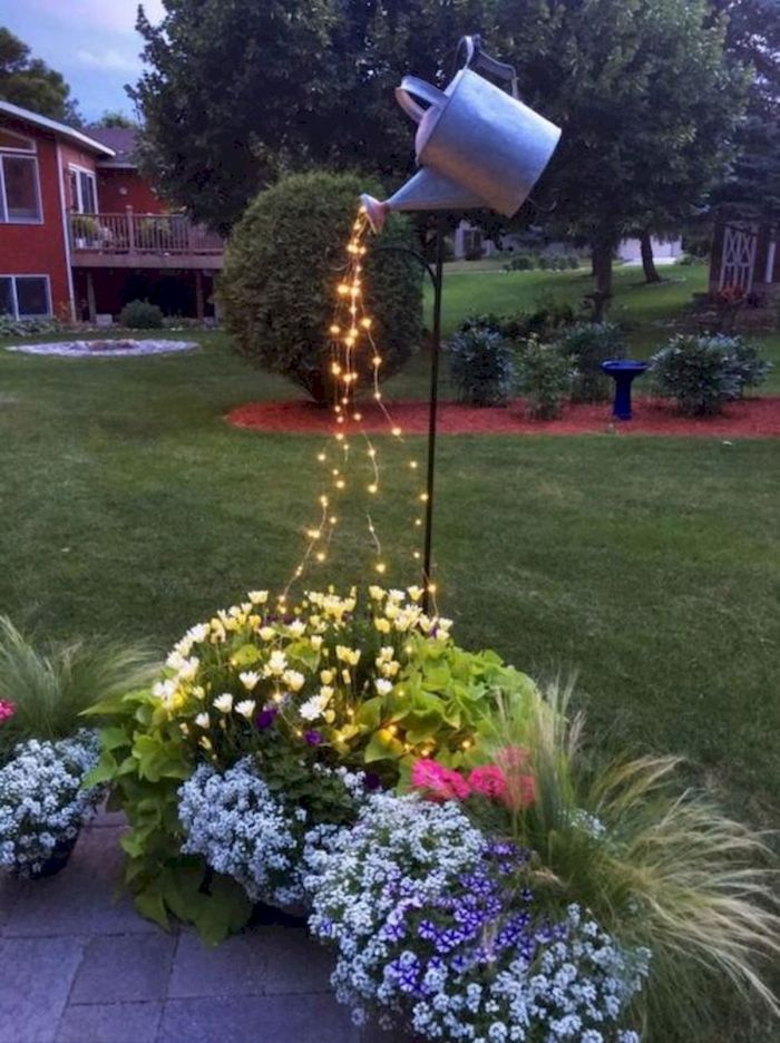 50+ Stunning DIY Spring decoration ideas for your yard and ... on Lawn Decorating Ideas id=72701