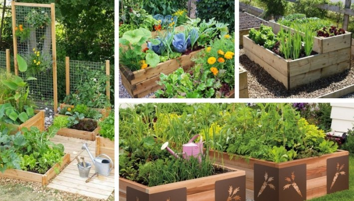 DIY raised vegetable gardens – clever and creative ideas for gardening