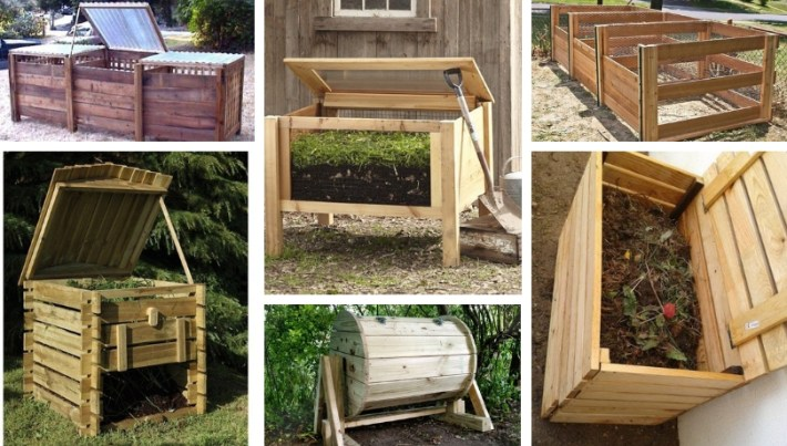30+ Creative DIY ideas with compost bins to create a \