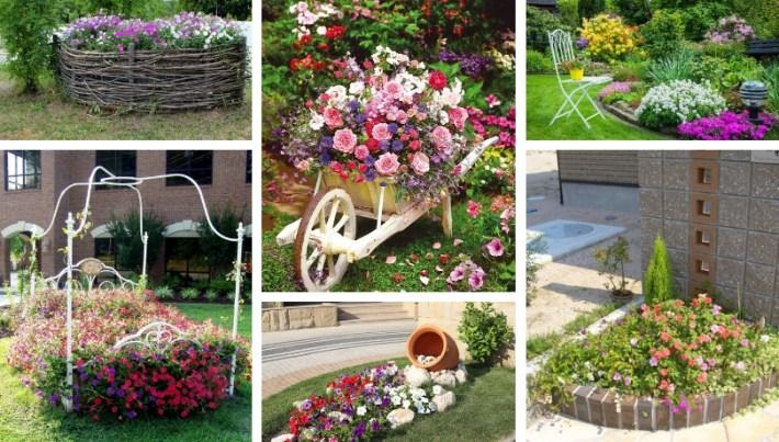 Wonderful Diy Flower Bed Design Ideas For A Fantastic Atmosphere