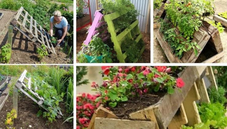 Pallets In The Garden Useful Diy Gardening Ideas My Desired Home