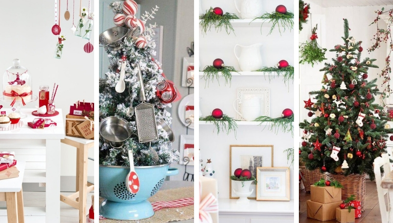 50 Warm Christmas Kitchen Decorating Ideas My Desired Home