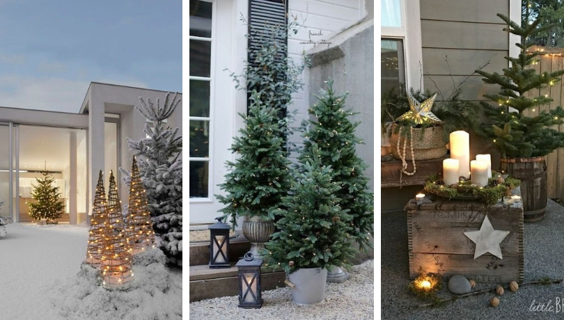 40 Wonderful Rustic Christmas Decoration Ideas For Your Yard And Garden My Desired Home