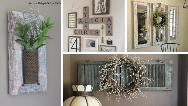 Amazing Rustic Diy Wall Decor Ideas To Add Charm To Your Home My Desired Home