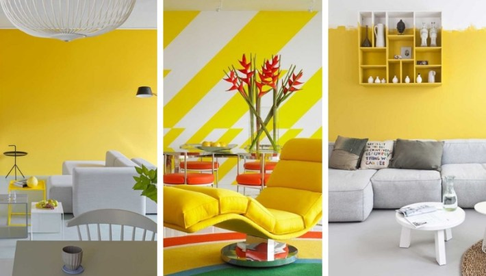 Perfect yellow room ideas: how to decorate, combinations and 30 inspiring photos
